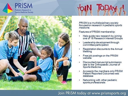 Join PRiSM today at www.prismsports.org