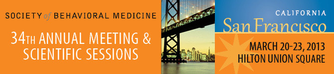 34th Annual Meeting, March 20-23, 2013, San Francisco, CA