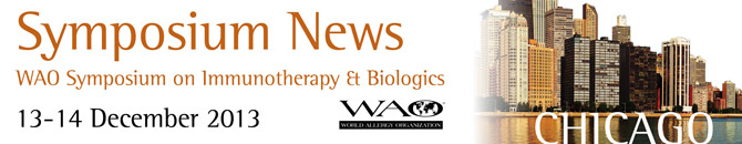 WAO Symposium on Immunotherapy and Biologics, 13-14 December 2013, Chicago, IL, United States
