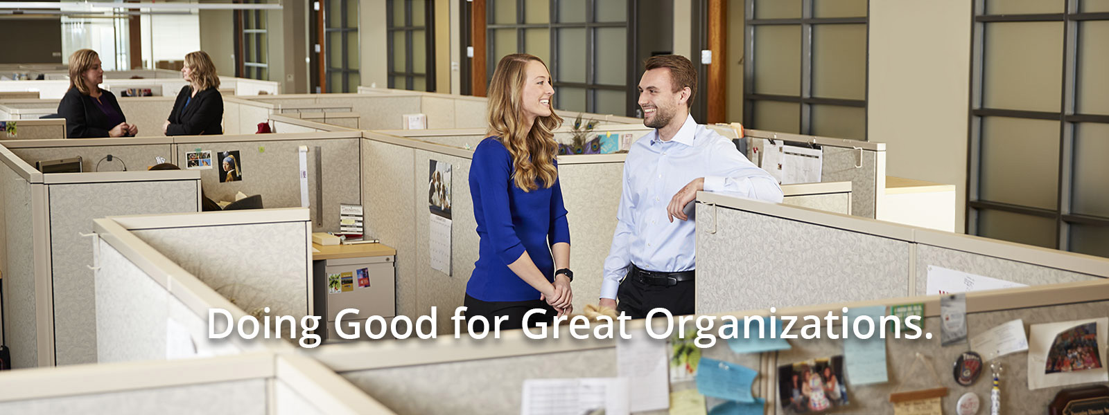 Doing Good for Great Organizations.